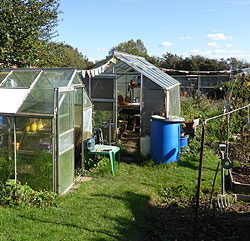 Two Greenhouses
